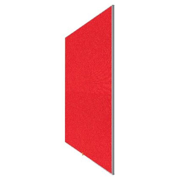 Nobo Red 85 Inch Widescreen Felt Noticeboard - 1905313