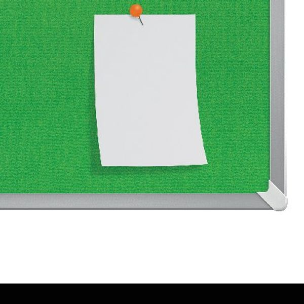 Nobo Green 40 Inch Widescreen Felt Noticeboard - 1905315