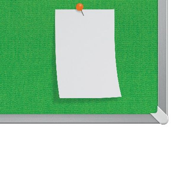 Nobo Green 85 Inch Widescreen Felt Noticeboard - 1905317