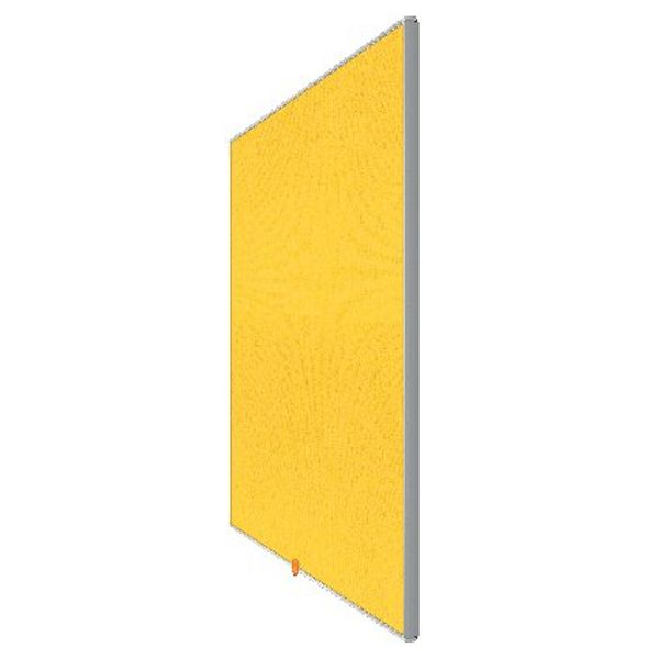 Nobo Yellow 55 Inch Widescreen Felt Noticeboard - 1905320