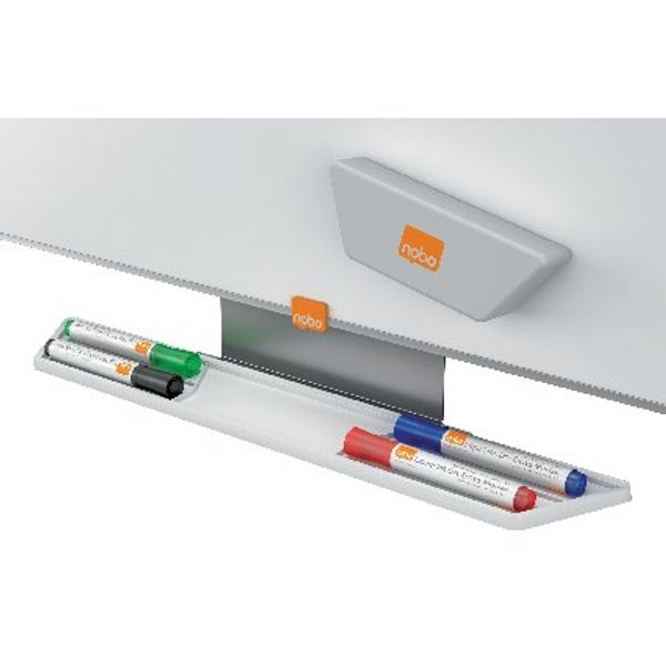 Nobo Assorted Glass Whiteboard Markers, Pack of 4 - 1905323