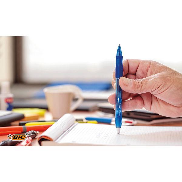 Bic Gel-ocity Original Gel Pen Medium Blue (Pack of 12) 829158