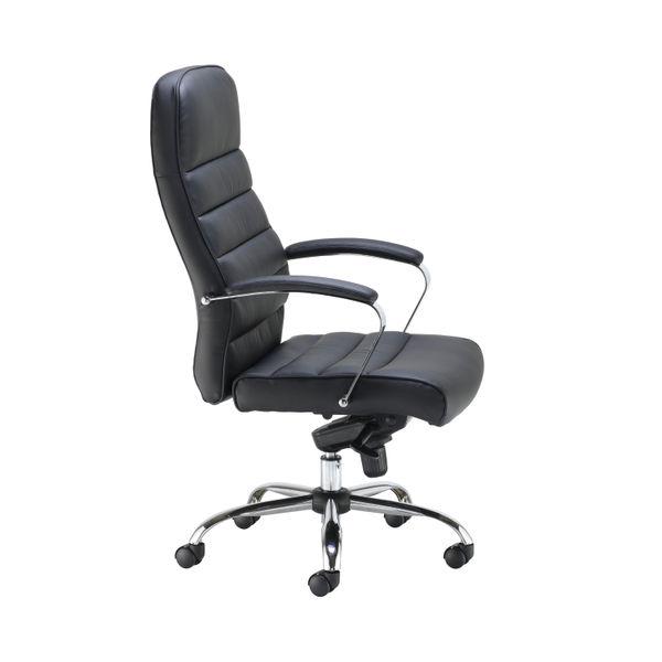 Jemini Ares Black PU Executive Office Chair