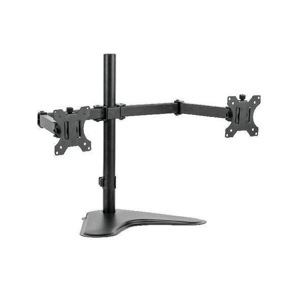 Fellowes Professional Series Free Standing Dual Horizontal Monitor Arm 8043701
