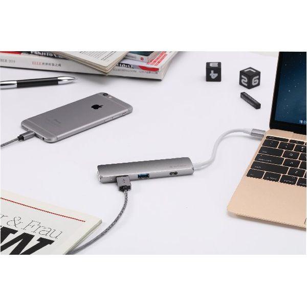 Verbatim Silver USB-C Hub with HDMI – 49540