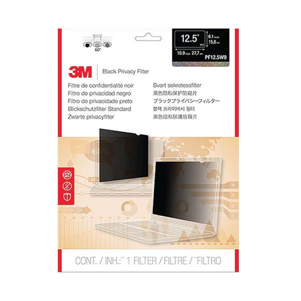 3M Black 12.5in Privacy Filter - PF12.5W9
