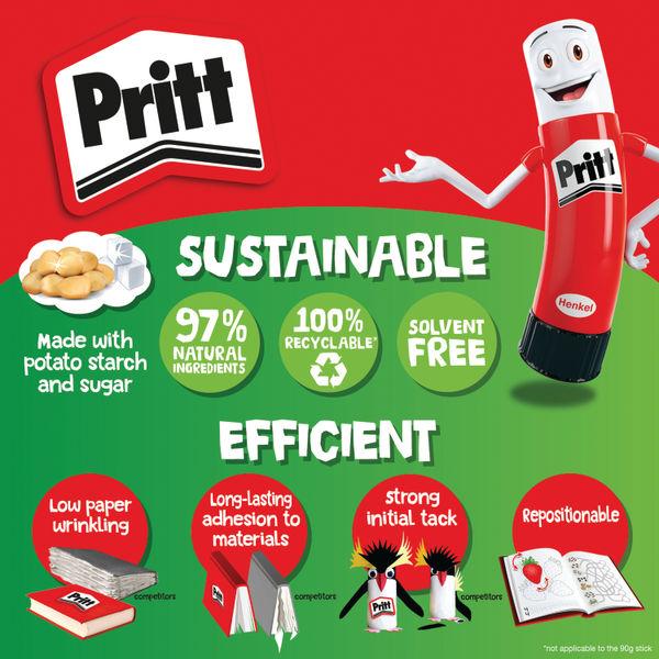 Pritt Stick 22g Original, Pack of 24   261384