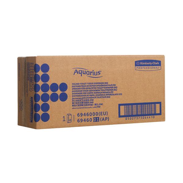 Aquarius Bulk Pack Toilet Tissue Dispenser White 6946