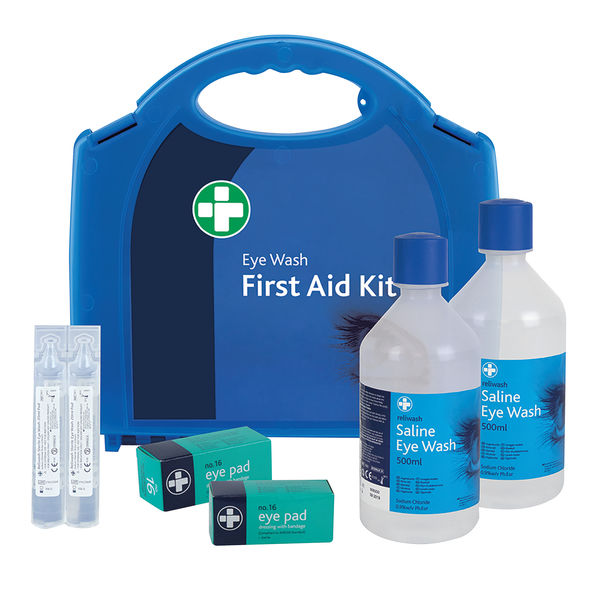 Reliance Medical Double Eye Wash Station First Aid Kit - 904