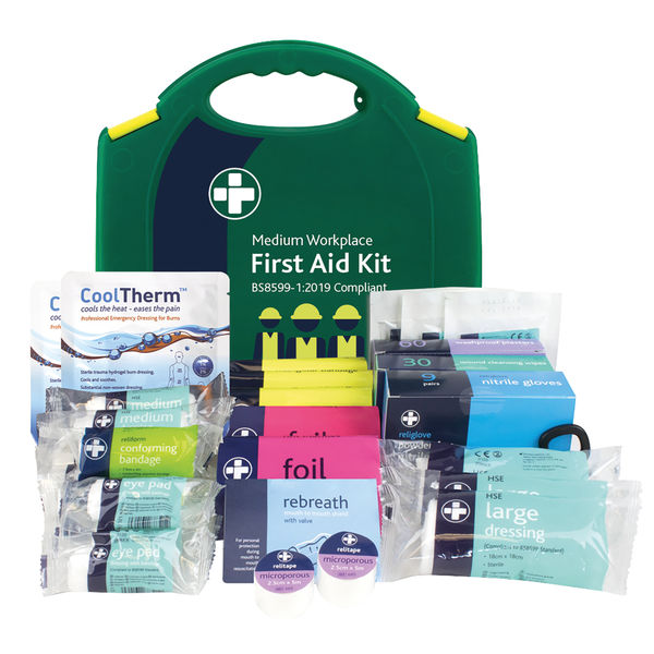 Reliance Medical Medium Workplace First Aid Kit - 3011