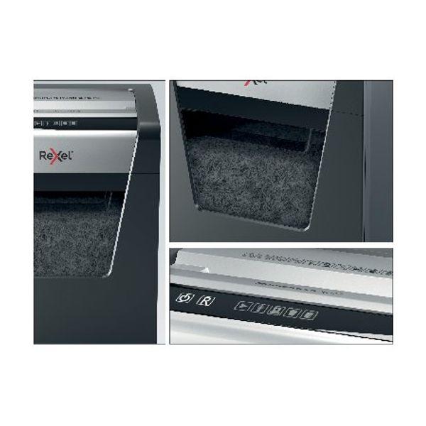 Rexel Momentum X415 Cross-Cut Paper Shredder Black - 2104576
