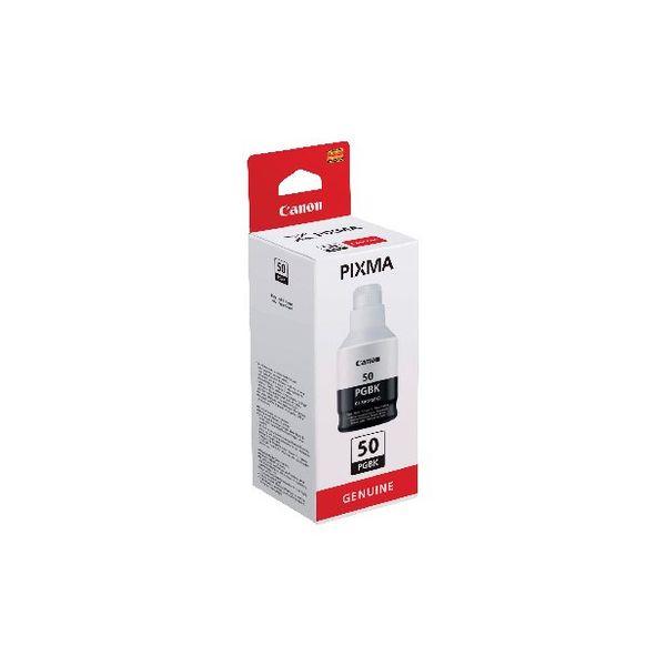 Canon GI-50PGBK Black Ink Bottle - High Capacity - 3386C001