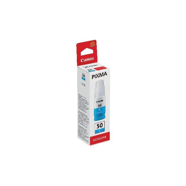 Canon GI-50C Cyan Ink Bottle - High Capacity - 3403C001