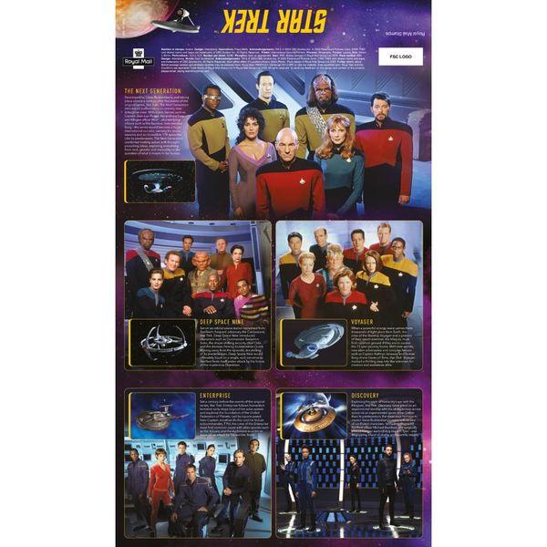 Star Trek Presentation Pack and Miniature Sheet