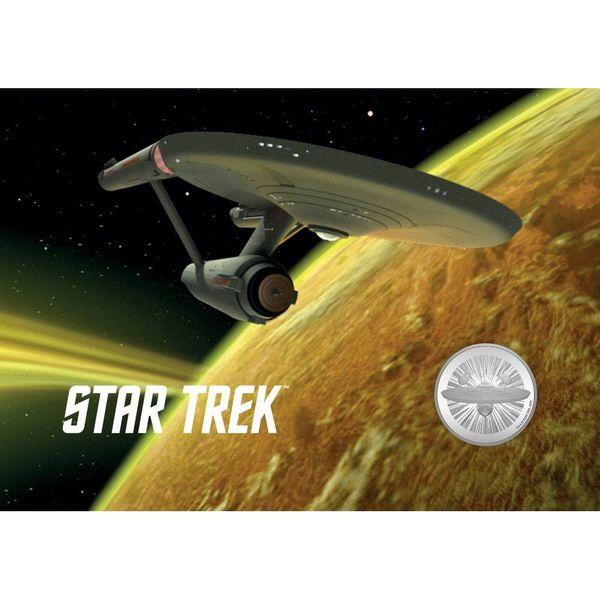 Star Trek Medal Cover