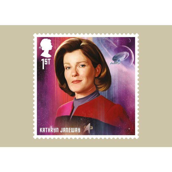 Star Trek Stamp Card Pack