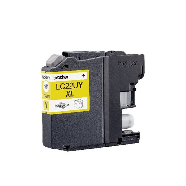 Brother LC22UY Yellow Ink Cartridge LC22UY