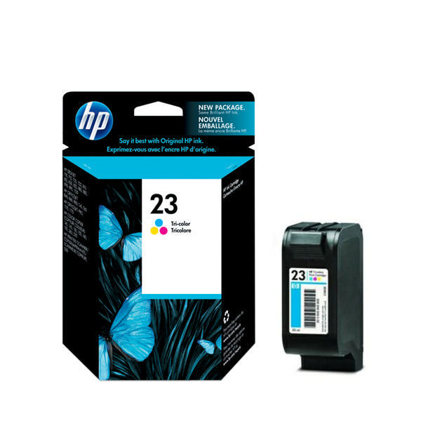 HP 23XL Tri Colour Inkjet Cartridge 30ml High Capacity | C1823DE