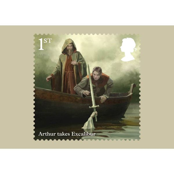 The Legend of King Arthur Stamp Card Pack