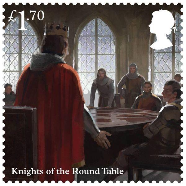 £1.70 Stamps x 50 (Postage Stamp Sheet) – Legend of King Arthur