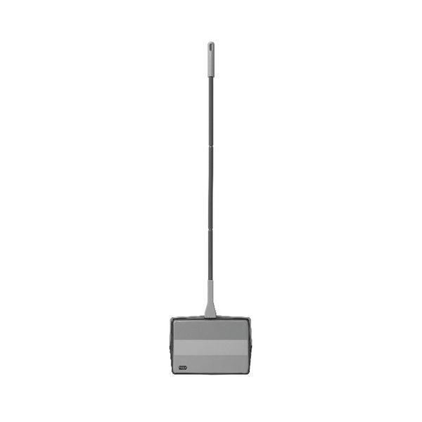 Addis Multi Surface Floor Sweeper Metallic (Large capacity bin for collecting dirt and dust) 515801