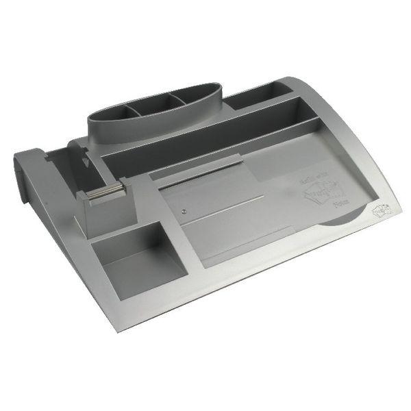 Post-it Desk Organiser Silver 6 Compartment 7000062207