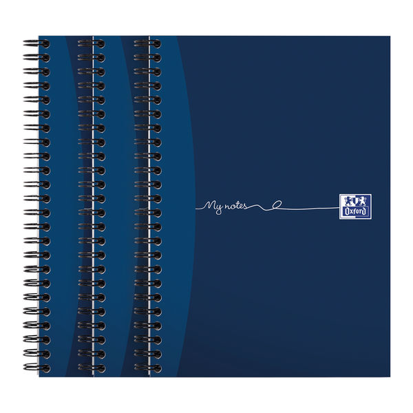 Oxford My Notes A5+ Wirebound Notebooks, Pack of 3 - 100082372