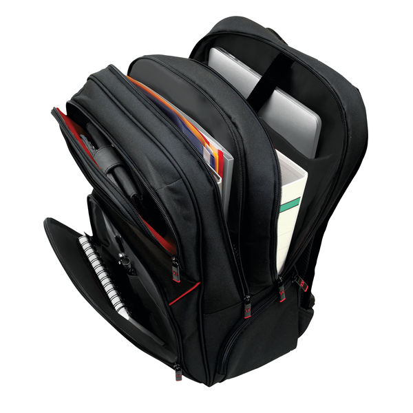 Monolith Black Lightweight Laptop Backpack - 3205
