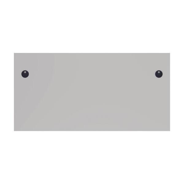 Jemini 1200mm White Rectangular Panel End Desk