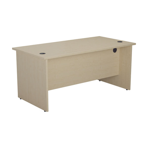 Jemini 1200mm Maple Rectangular Panel End Desk