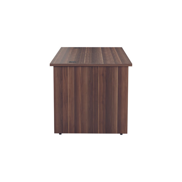 Jemini 1200mm Dark Walnut Rectangular Panel End Desk