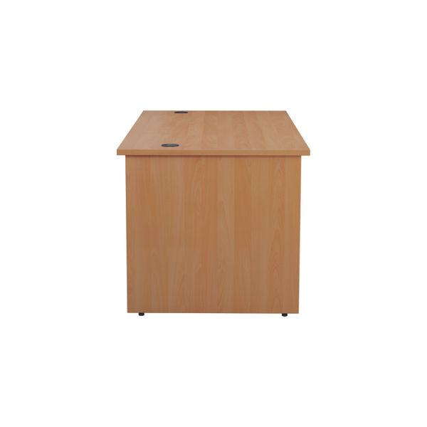 Jemini 1400mm Beech Rectangular Panel End Desk