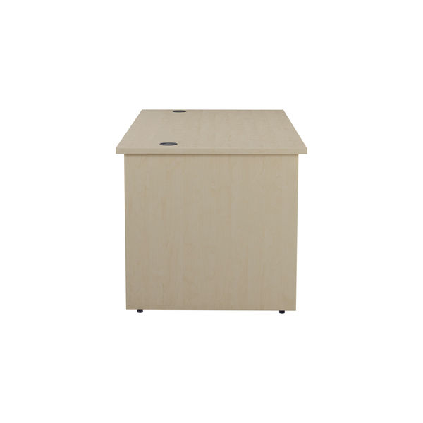 Jemini 1600mm Maple Rectangular Panel End Desk
