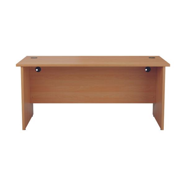 Jemini 1800mm Beech Rectangular Panel End Desk