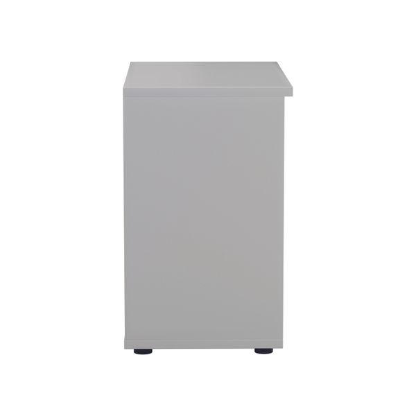 Jemini 700 x 450mm White Wooden Bookcase