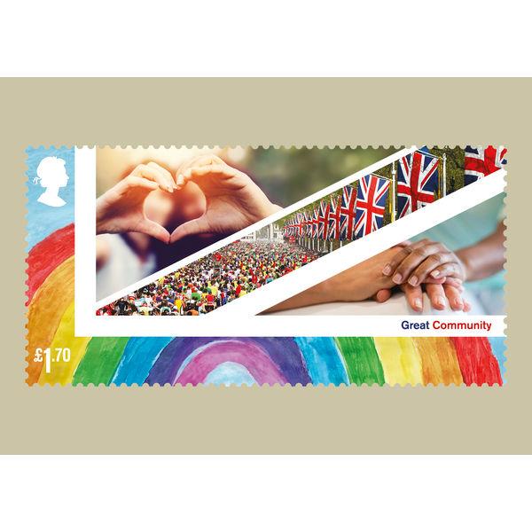United Kingdom Celebration Stamp Card Pack