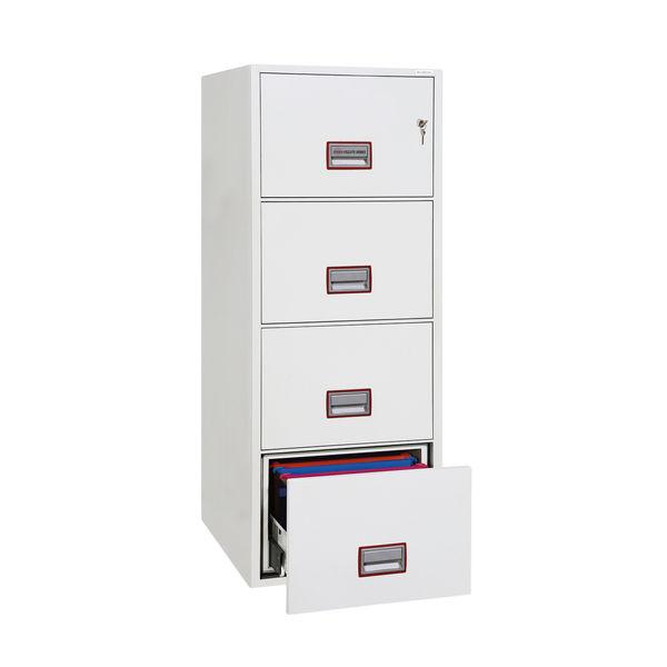 Phoenix FS2274K Fire File 4 Drawer Key Lock FS2274K
