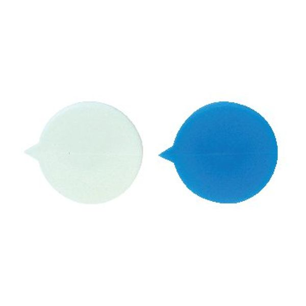 Go Secure Plain Blue Button Security Seals, Pack of 500 - IMSEALBL