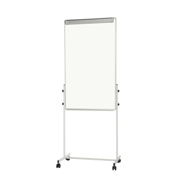 Bi-Office White Portable Duo Board and Flipchart Easel - EA4724075