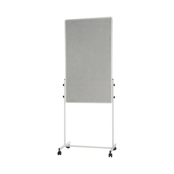 Bi-Office Portable Duo Board and Flipchart Easel   EA4724075