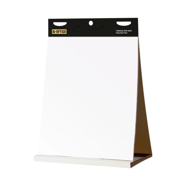Bi-Office Self-stick Table Top A2+ Flipchart Pad - BQ55484