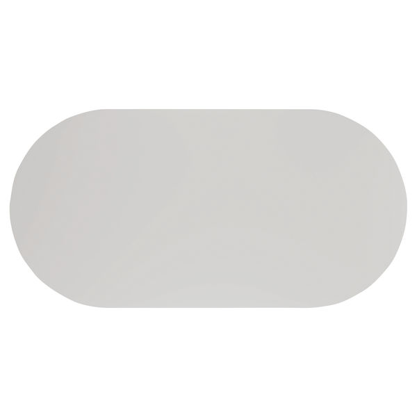 Jemini 2400mm White Meeting Table