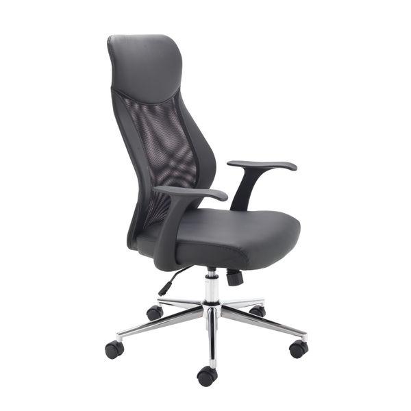 Jemini Tyne Black High Back Mesh Operators Office Chair