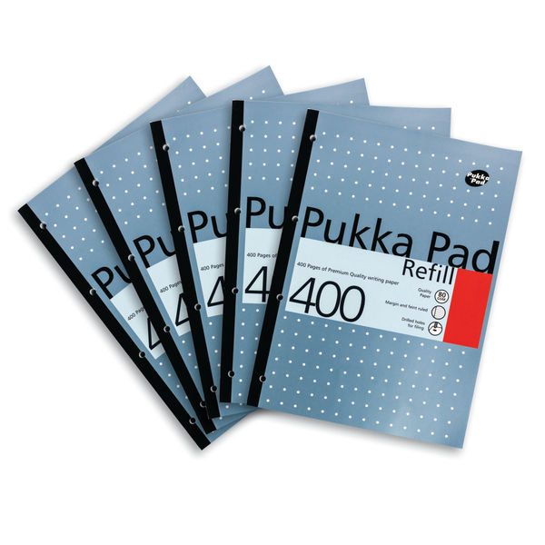Pukka Pad A4 Refill Pads - Pack of 5 - PP01380