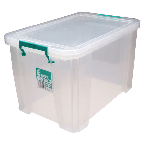 StoreStack 26L Storage Box with Lid - RB11088