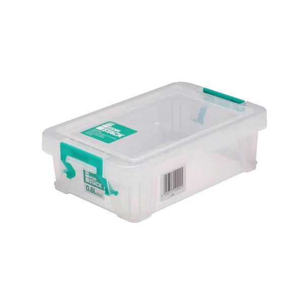 StoreStack 0.8 Litre Storage Box W200xD125xH50mm Clear RB90118