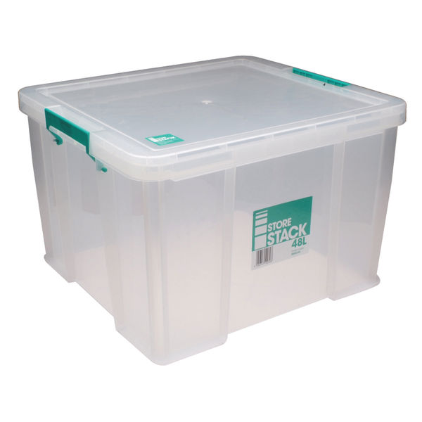 StoreStack 48L Storage Box with Lid - S20W480VW