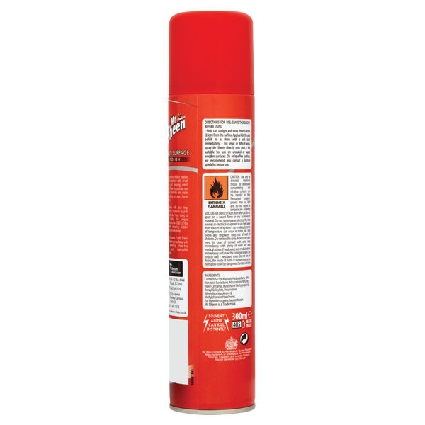 Mr Sheen 300ml Multi Surface Dust and Shine Polish - 0341189