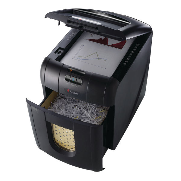 Rexel Auto+ 130X Cross Cut Shredder - 2102559A