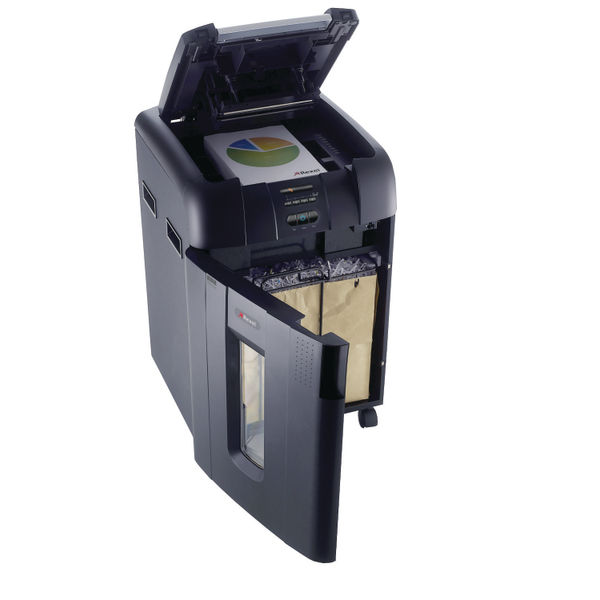 Rexel AutoFeed SmarTech 600X Cross-Cut Shredder - 2103500S